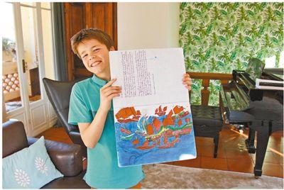 摩纳哥初中生:中国是一个令人向往的国家