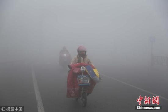 湖北湖南四川盆地等地将有大雾 青藏高原有显着降雪