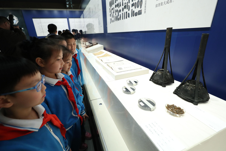 安徽文房四宝园博馆开展 多件文物珍品首次进京