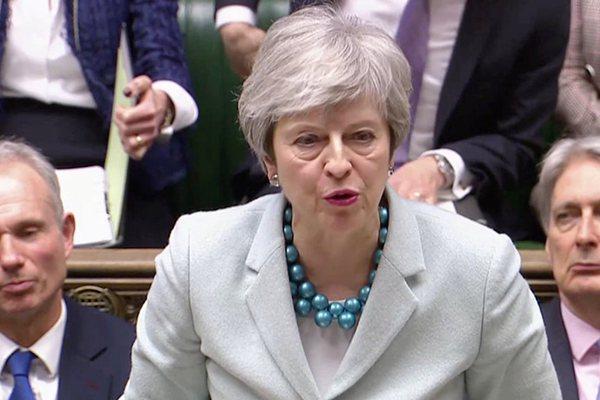"""第三轮""""脱欧""""协议投票再推迟?英首相:没足够支持"""