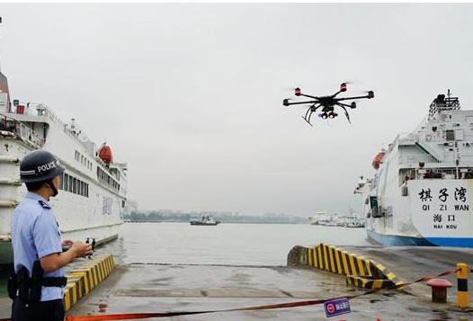 海口启用无人机保障博鳌论坛 人脸抓拍更显智能