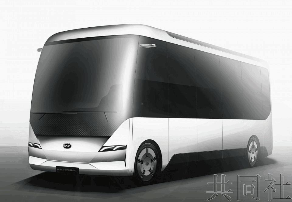 价格优势明显 比亚迪将在日本售小型电动巴士J6