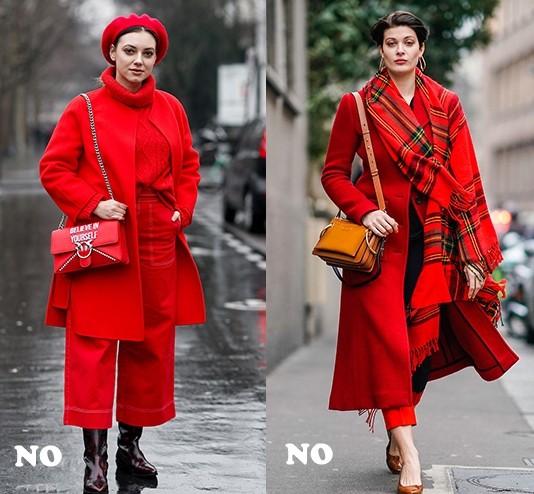 开春少不了的红色单品,妆容怎么搭不土气?