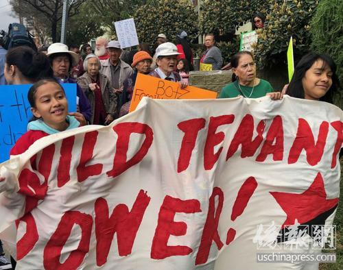 美媒:洛杉矶中国城公寓租金调涨逾200% 华人长者抗议