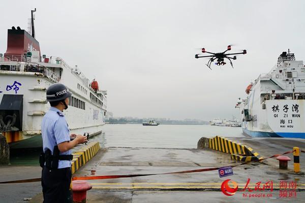 海口启用无人机保障博鳌论坛人脸抓拍更显智能