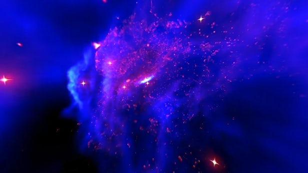 NASA虚拟现实体验让观众探索银河系中心超大质量黑洞