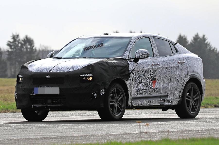 领克新车德国测试谍照首曝 轿跑SUV设计