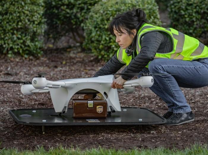 UPS利用无人机为WakeMed医院运输医疗样本