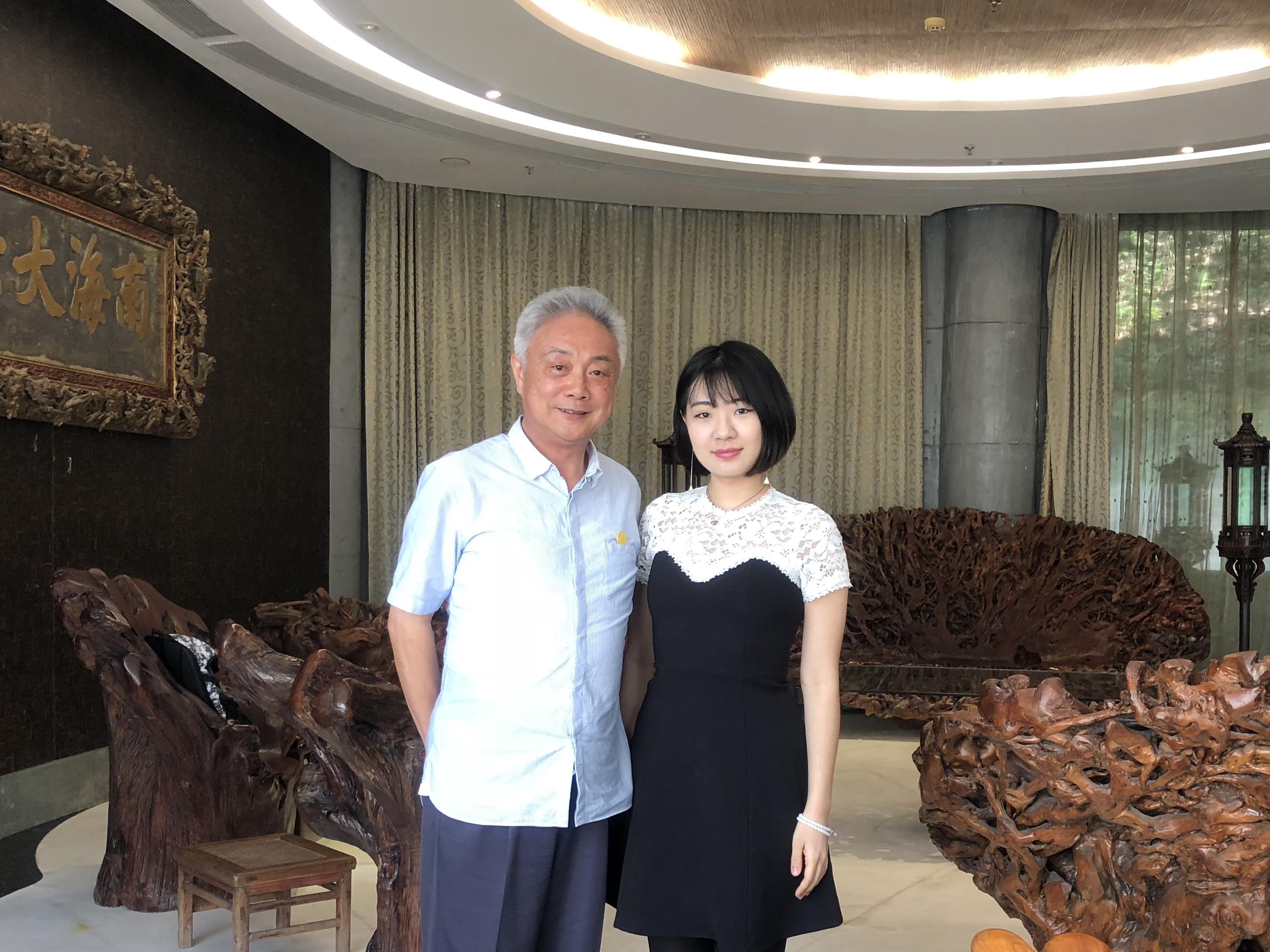 """专访""""博鳌之父""""蒋晓松:欢迎特朗普来博鳌看看"""