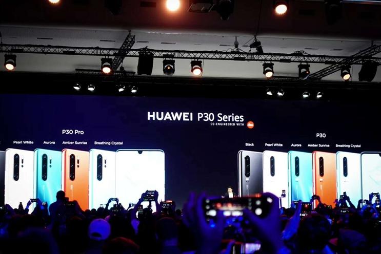 余承东:要用P30系列抢占印度高端手机市场