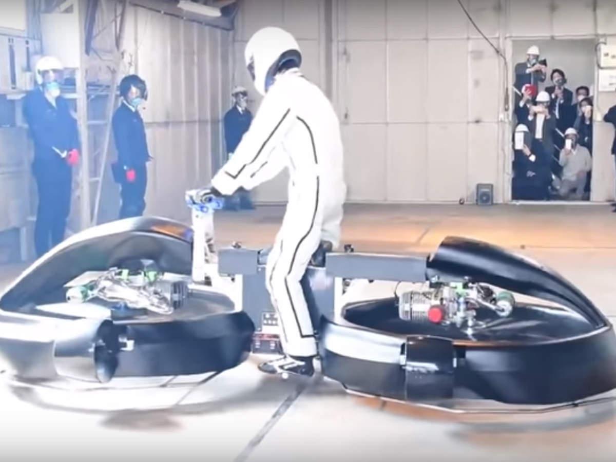 日本公司研发飞行摩托 拟2022年量产上市