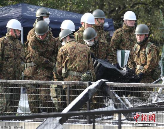 """日华媒:日本自卫队呈现""""高龄化""""渐陷""""人荒"""""""