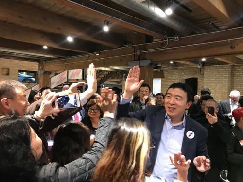 美媒:杨安泽竞选美总统 已获超8万笔捐款