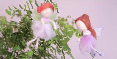 漂亮的小仙女挂件