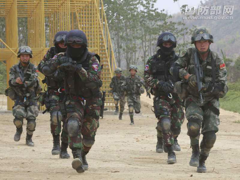 国防部:中柬联合训练巩固友谊 促进两军关系