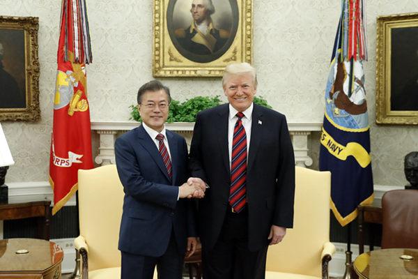 韩美领导人4月10日将在华盛顿会晤