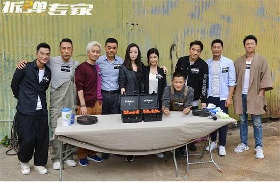 刘德华《拆弹专家2》开机 刘青云倪妮加盟