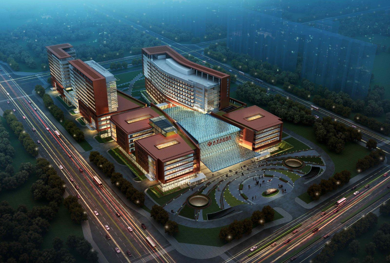 北京朝阳医院东院昨日奠基 预计2022年竣工