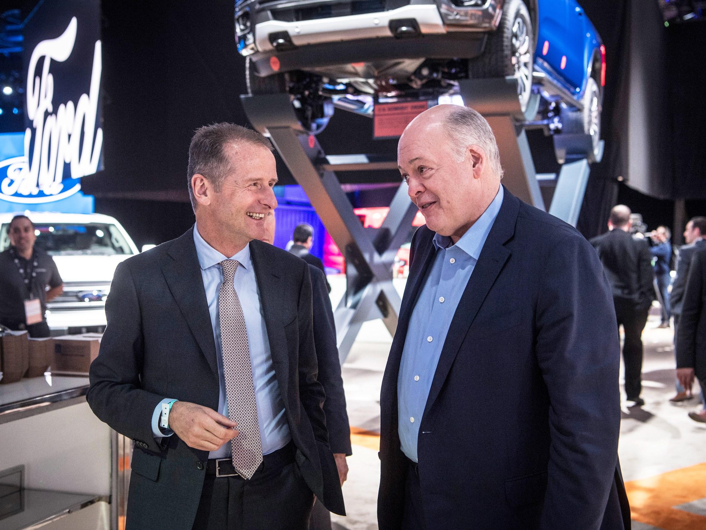 大众与福特签订皮卡合作协议 自动驾驶谈判进行中
