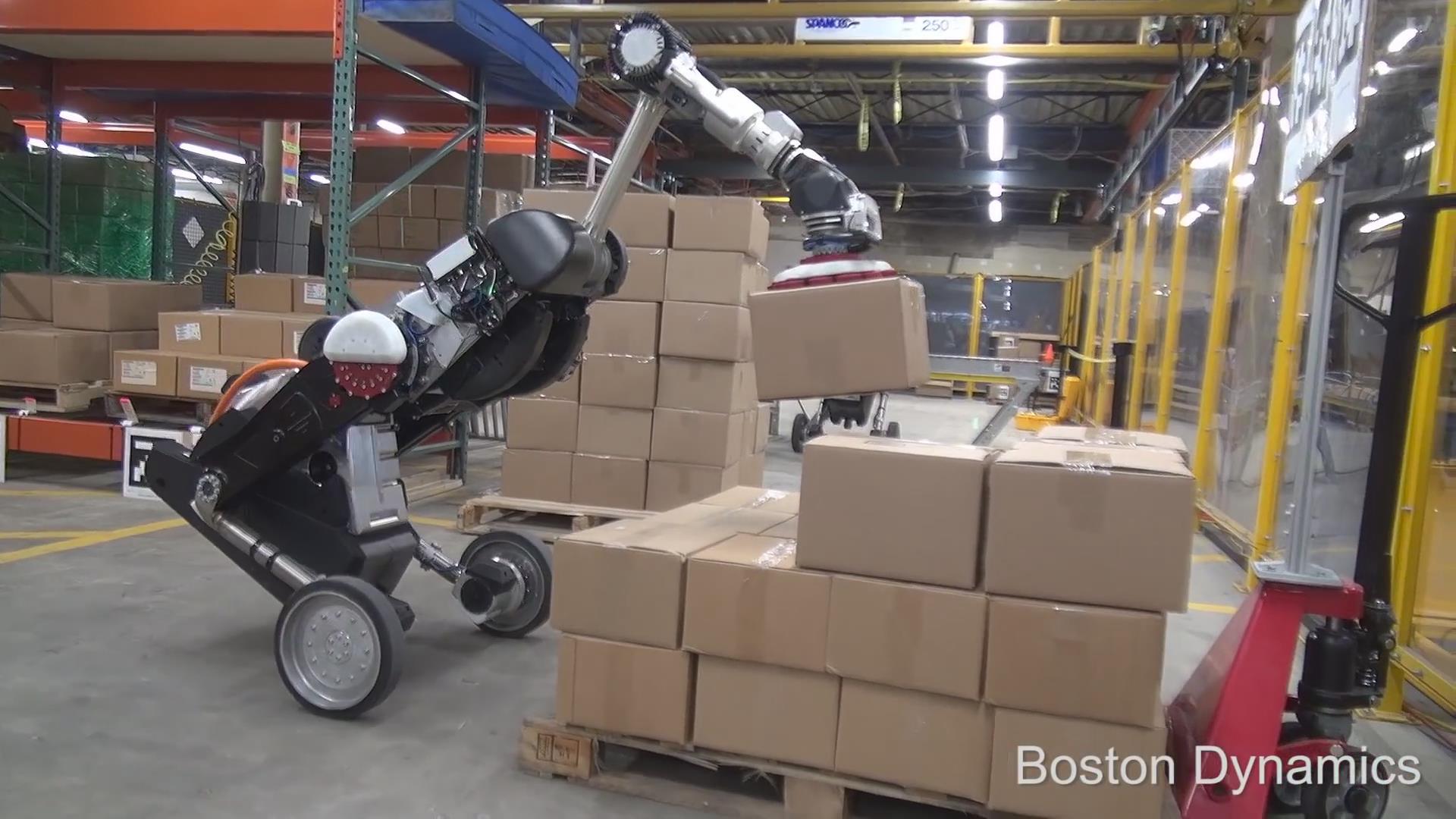 波士顿动力又出新机器人:搬运能手Handle