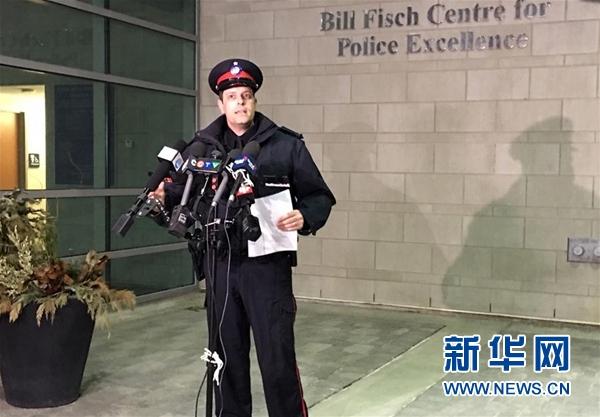 加拿大警方:加拿大警方逮捕一名涉嫌参与绑架中国留学生的男子