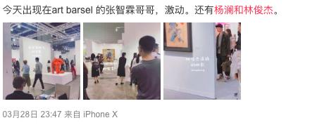 50岁杨澜看艺术展被偶遇 知性优雅保养超好撞脸大S