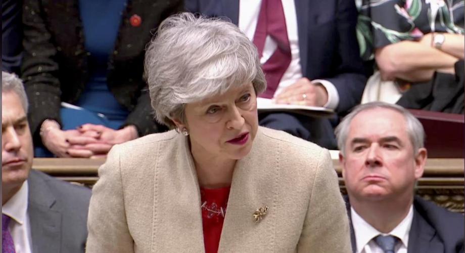 脱欧何去何从?特雷莎•梅脱欧协议再遭英国议会否决