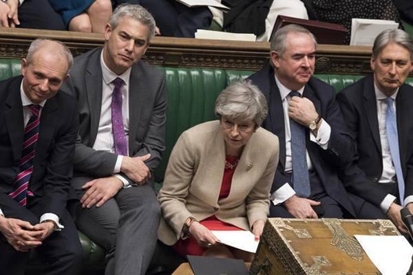 """英国议会再次否决""""脱欧""""协议关键部分"""