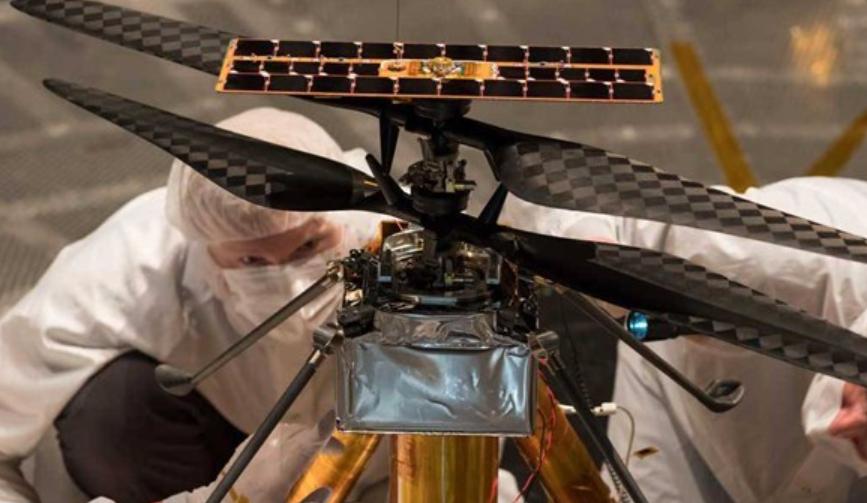 就差去火星的船票了,NASA火星直升机完成飞行测试