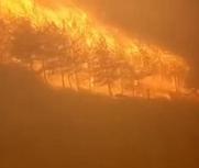 山西沁源再发森林大火
