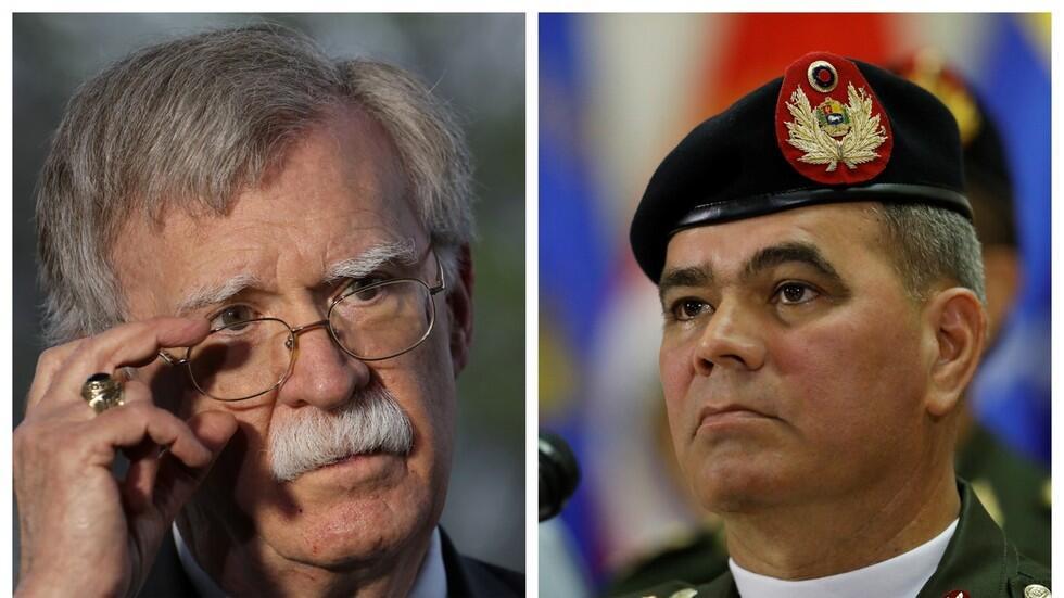 博尔顿屡发文呼吁委内瑞拉防长叛变,果然被正面怼了