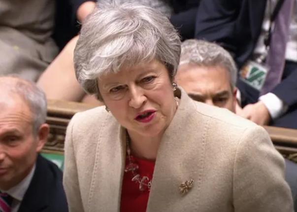 英国议会第三次否决了脱欧协议 英镑瞬跌!
