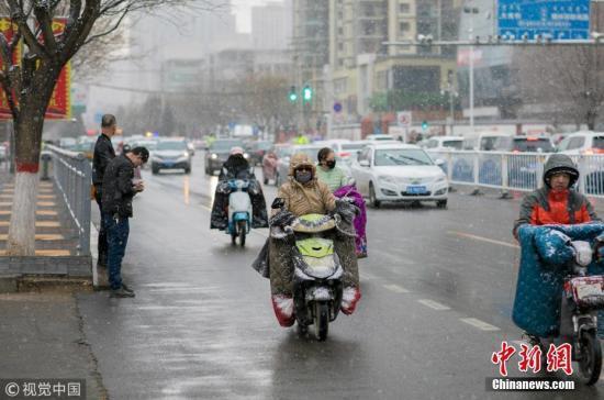 冷空气影响中东部地区 降雨强对流大雾齐聚南方