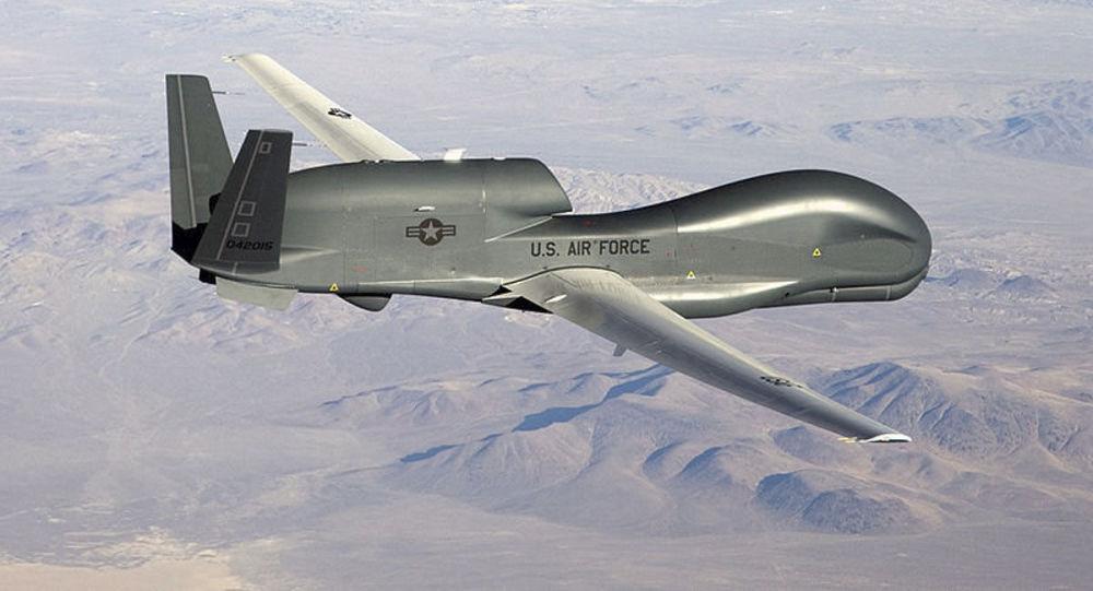 美军全球鹰无人机在克里米亚海岸附近进行侦查