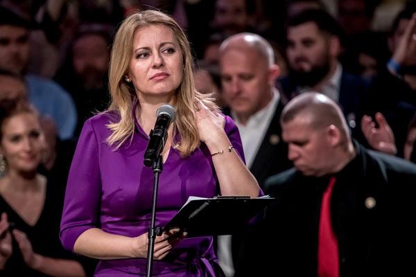 卡普托娃赢得斯洛伐克大选 成为该国首位女总统