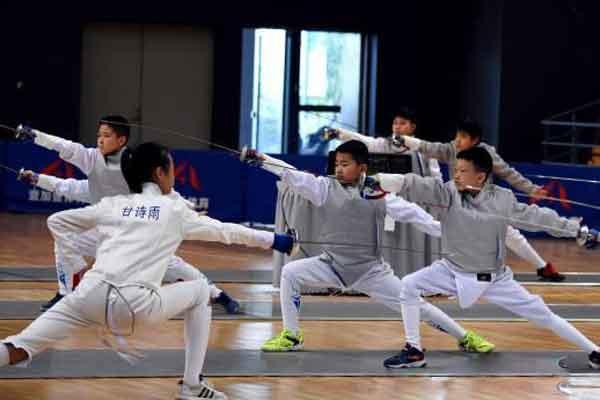福州青少年击剑运动兴起