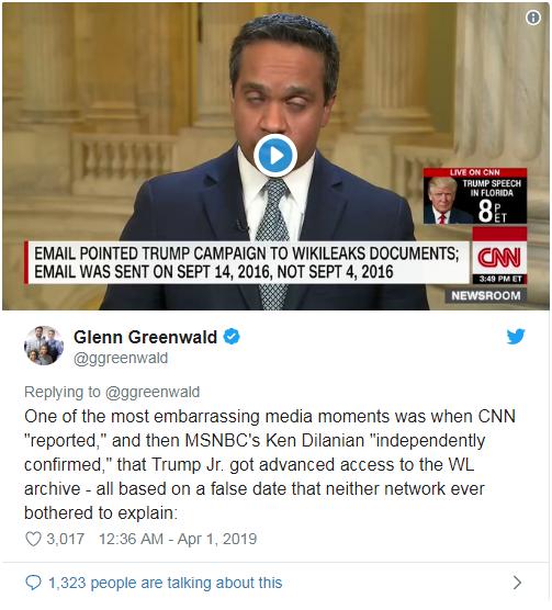 """CNN主持人否认""""通俄门""""报道有错被群嘲:惯用被动攻击伎俩"""
