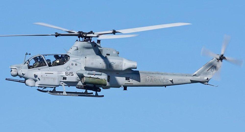 美国陆军1架武装直升机坠毁 2名飞行员死亡