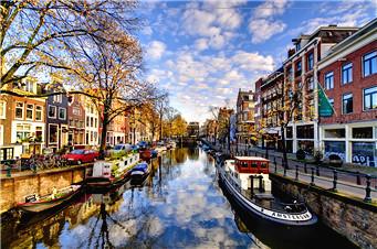 图集 | 阿姆斯特丹:郁金香与风车的王国