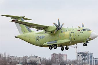 俄军最新战术运输机首飞成功 机身短粗运力不俗