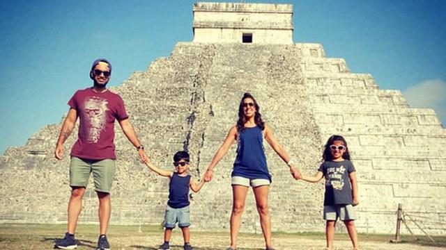英父母放弃一切带两孩子环游世界体验生活意义