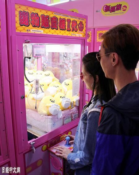 中国台湾掀起夹娃娃机热潮,街头小店如雨后春笋