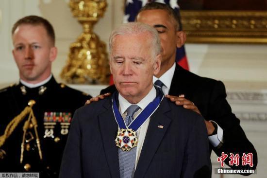 """身陷""""不当行为""""丑闻 美前副总统拜登:从来没有"""