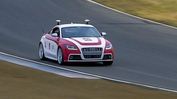 自动驾驶汽车如何像赛车手一样处理急转弯