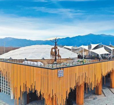 北京世园会植物馆:红树林搬进北方温室