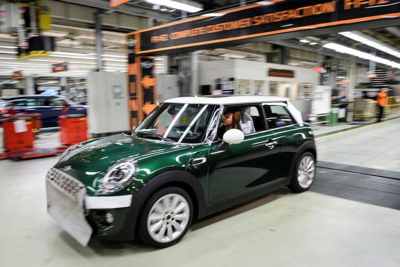 受脱欧影响 宝马MINI英国工厂暂停生产