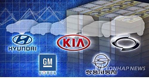 海外需求疲软 韩国五大车企3月总销量同比下降