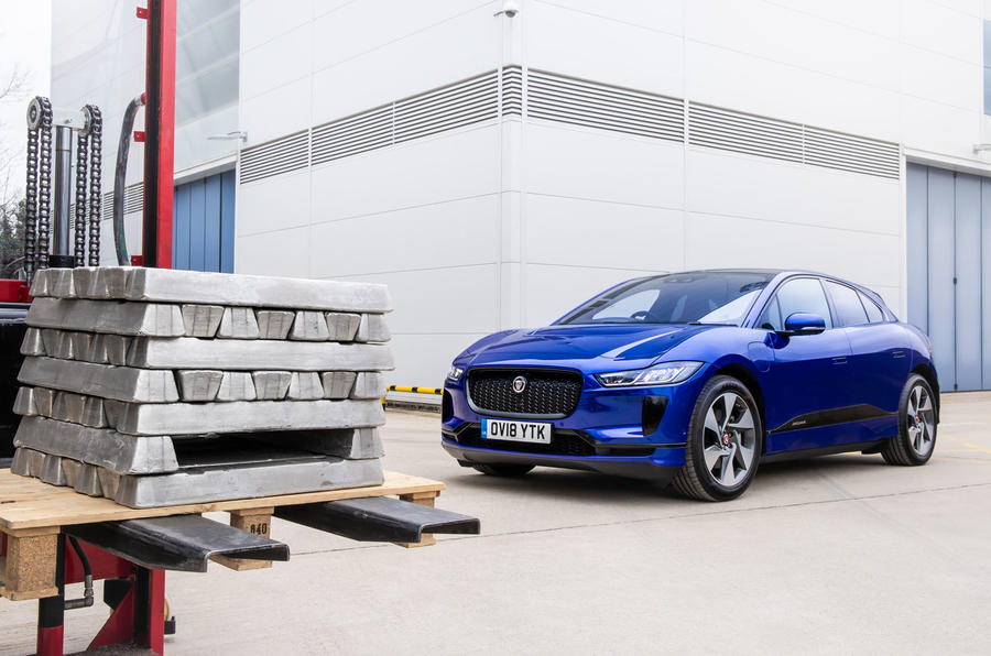 捷豹用I-Pace回收铝材打造新车 生产流程更环保