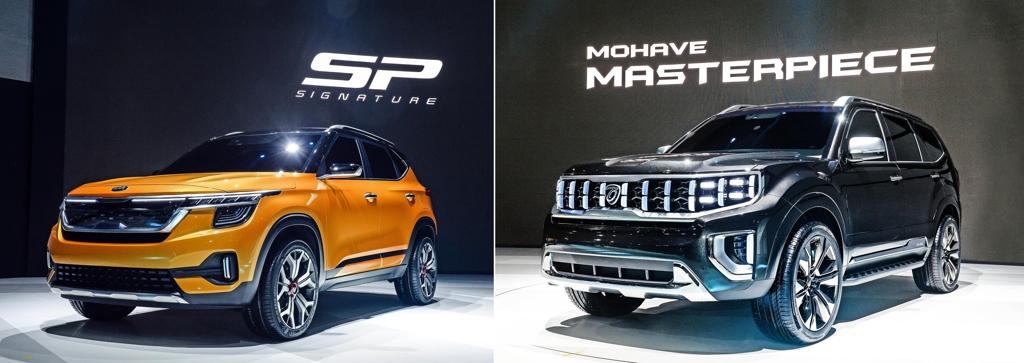 起亚两款概念SUV亮相2019首尔车展