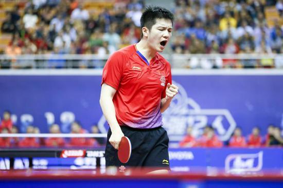 国际乒联公布最新排名 樊振东丁宁稳坐头名